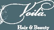 Voila Hair and Beauty Logo
